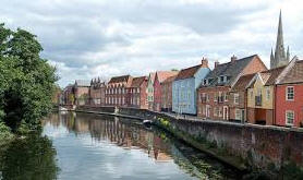Norwich, holiday, break, self-catering, visit